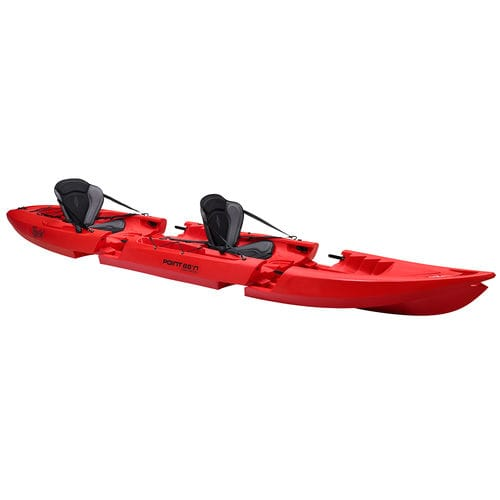 sit-on-top kayak / modular / recreational / tandem