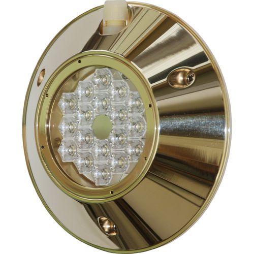 underwater boat light / LED / surface-mount / bronze