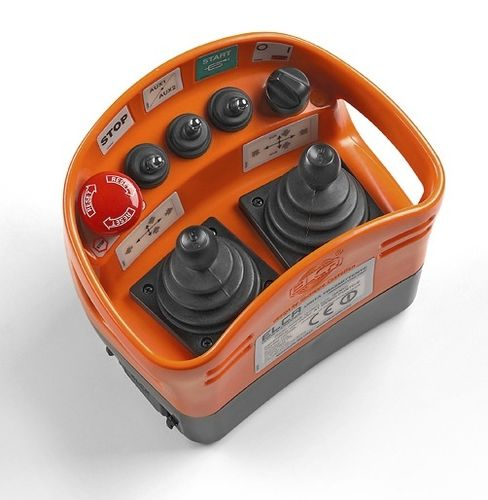 terminal radio remote control / for harbors / multifunction