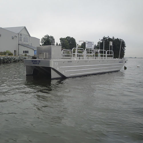 oil spill recovery barge