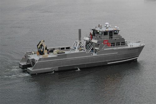 catamaran multi-purpose vessel