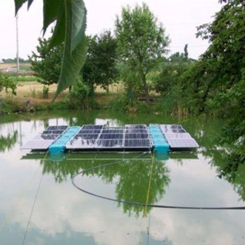 photovoltaic solar farm platform / floating / modular