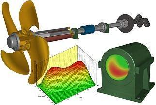propeller shaft design software / calculation / for ships