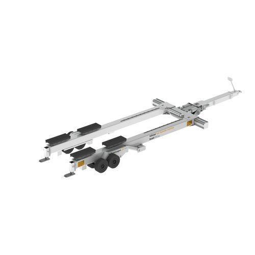 launching trailer / handling / shipyard / hydraulic