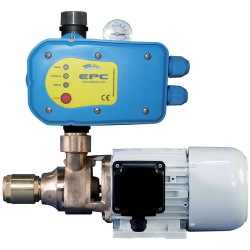 accumulator water pressurization system / for boats