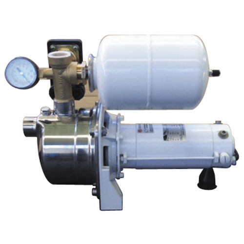 boat water pressurization system / pump / stainless steel / for fresh water