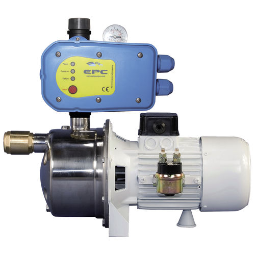 pump water pressurization system / for boats / accumulator