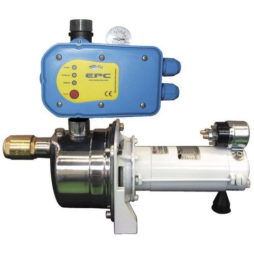 accumulator water pressurization system / pump / for boats