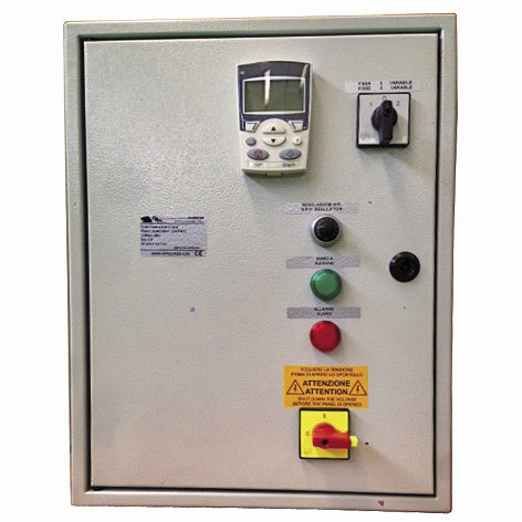 yacht control panel / pump / for blowers