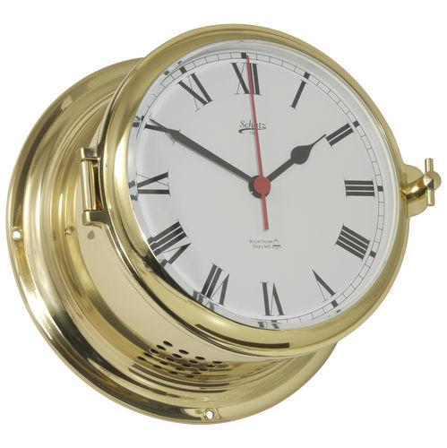 analog clock / brass / bell