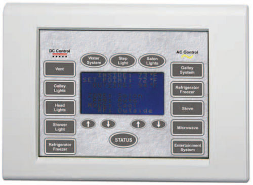 boat monitoring and control panel / for yachts