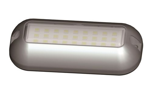RGBW LED underwater light / for boats / surface-mount / stainless steel