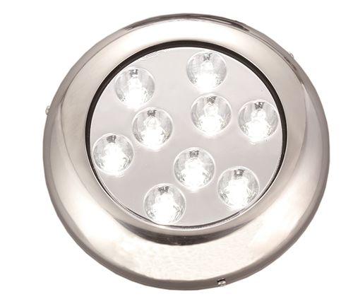 underwater boat light / LED / surface-mount