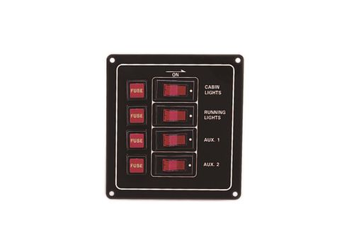 boat switch panel / current