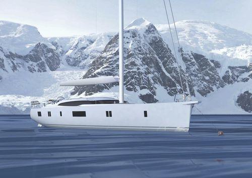 cruising sailing yacht / expedition / deck saloon / center cockpit