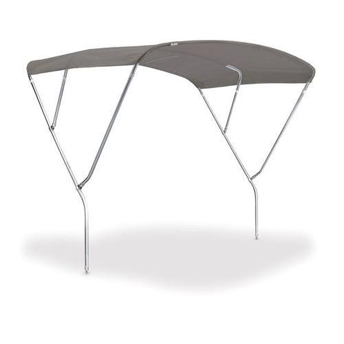 sailboat Bimini top / helm station / stainless steel frame / custom