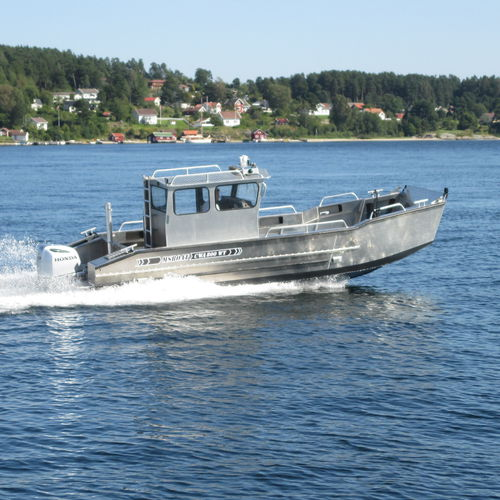 landing craft / outboard / aluminum