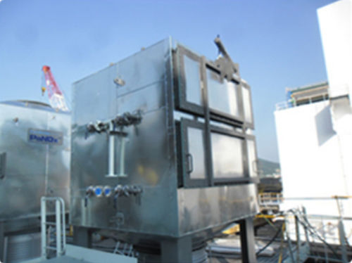 NOx selective catalytic reduction system / for ships / SCR