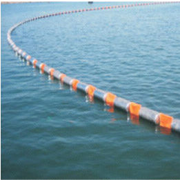 pollution control boom / floating / fire-resistant