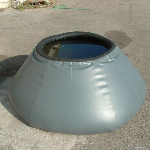 hydrocarbon tank / liquid / temporary storage / self-supporting