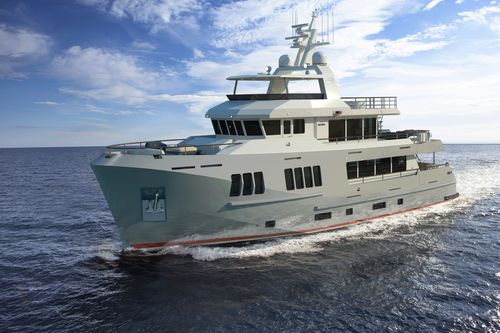 expedition motor yacht / expedition / flybridge / steel