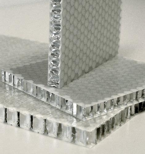 ship fitting sandwich panel / aluminum honeycomb / fiberglass
