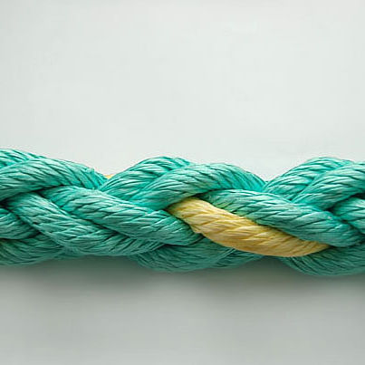 mooring cordage / towing / twisted / for sailboats