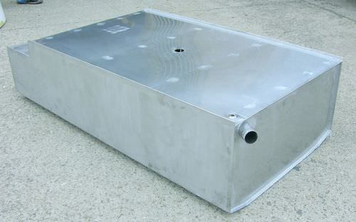 water tank / for boats / custom / stainless steel