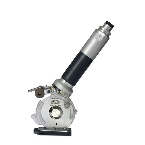 rotary-knife cutting machine / pneumatic / fabric / rubber