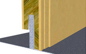 ship partition wall sandwich panel