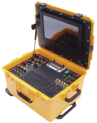 ROV control console