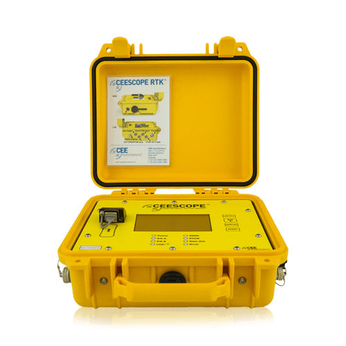 hydrographic survey echo sounder / dual-frequency / with LCD display / hand