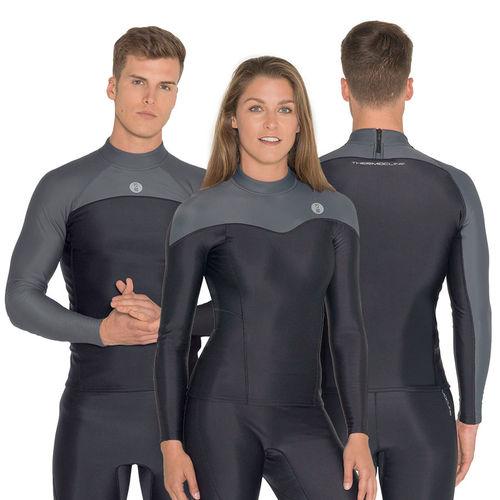 long-sleeve lycra top / adult / thermal