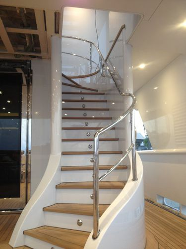 yacht handrail / for stairs