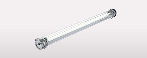 indoor ceiling light / for ships / fluorescent / waterproof