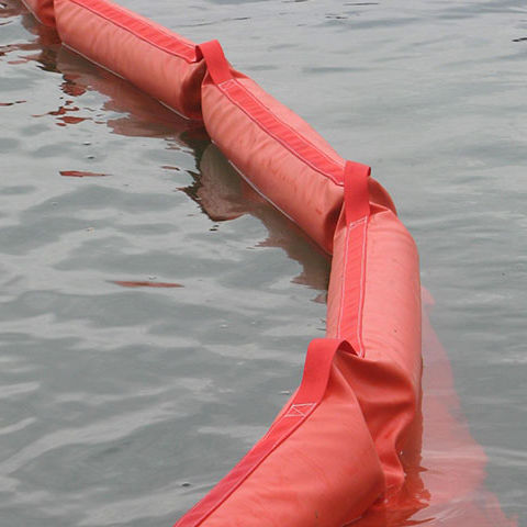 pollution control boom / hanging / floating / sheltered waters