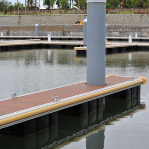 marina fender / for docks / rectangular