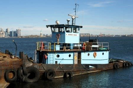 push tug professional boat