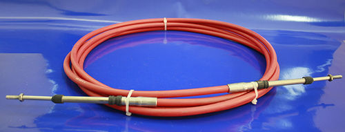control cable / for boats / motor