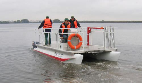 pollution control boat professional boat