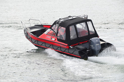 outboard inflatable boat / sport-fishing / 15-person max.