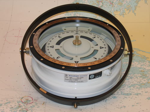 ship steering compass