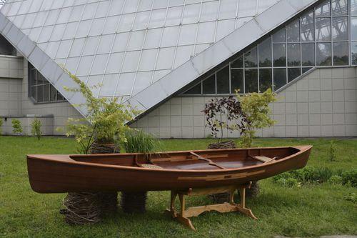 multi-use canoe / touring / fishing / 2-person