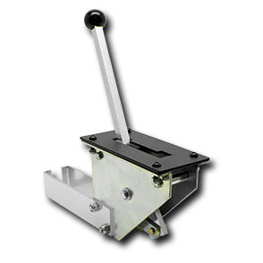 machine control lever / mechanical / single-lever / for boats