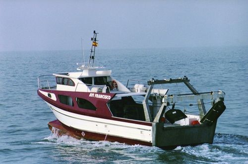 professional fishing boat / inboard