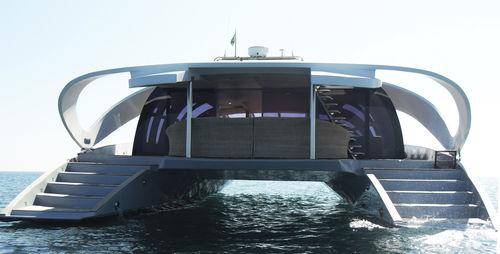 catamaran motor yacht - Oxygène Yachts