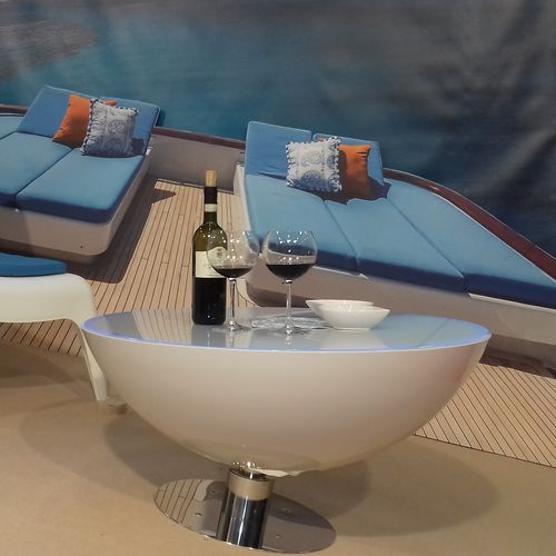 boat table / for yachts / for ships / stabilized