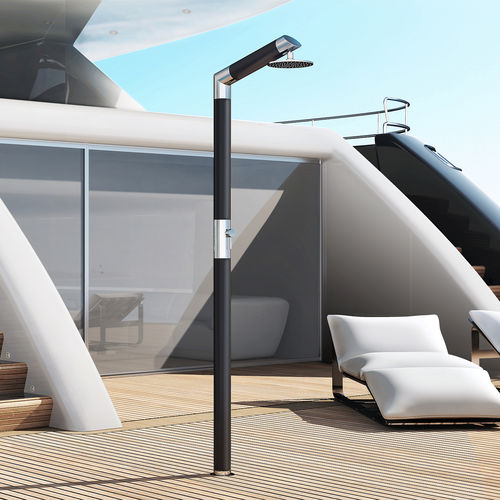 boat deck shower / for docks / for yachts / carbon