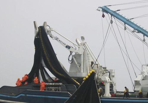 fishing boat power block