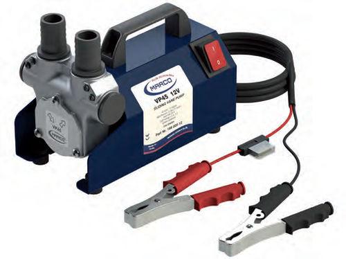 boat pump / transfer / rotary vane / electric